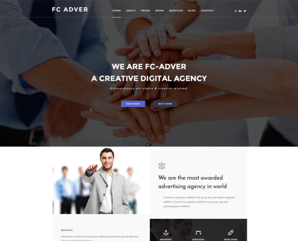 FC ADVER Advertising Template