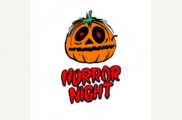 Halloween Pumpkin Horror Night