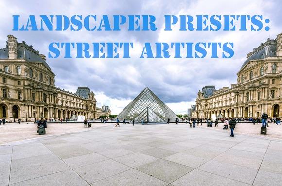 10 Landscaper Presets Street Artist
