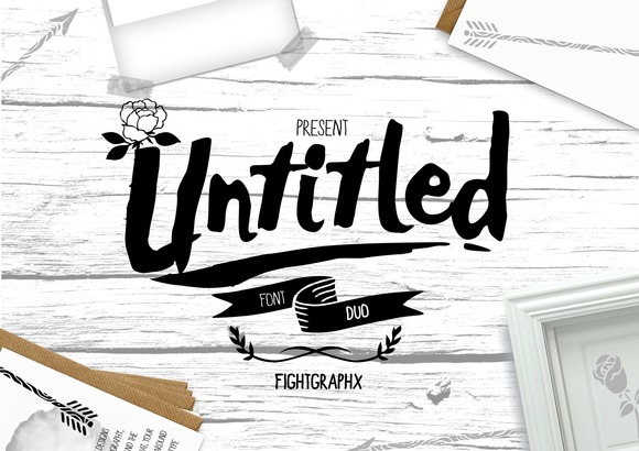 Untitled Font Duo Extras