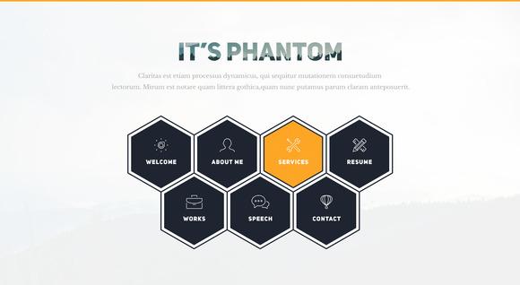 Phantom-Resume CV Portfolio Template