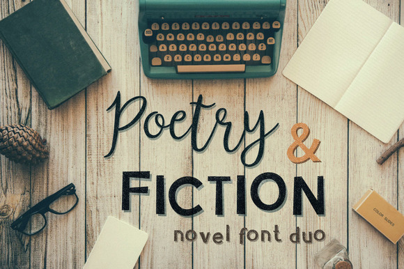Poetry Fiction Novel Font Duo