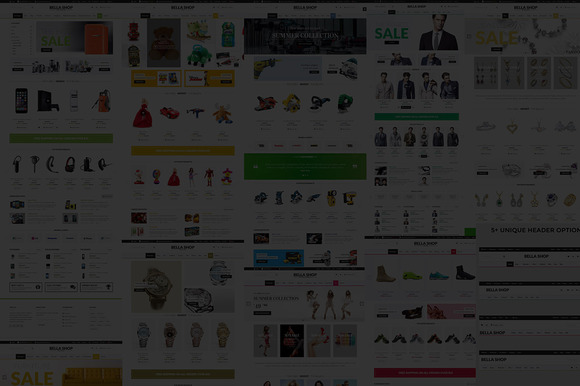 BellaShop Ecommerce Opencart Theme