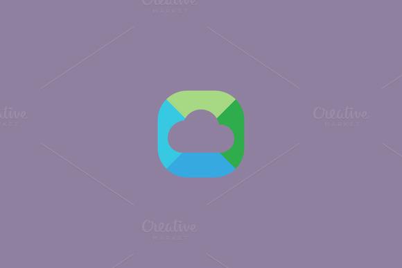 Abstract Cloud Logo Design