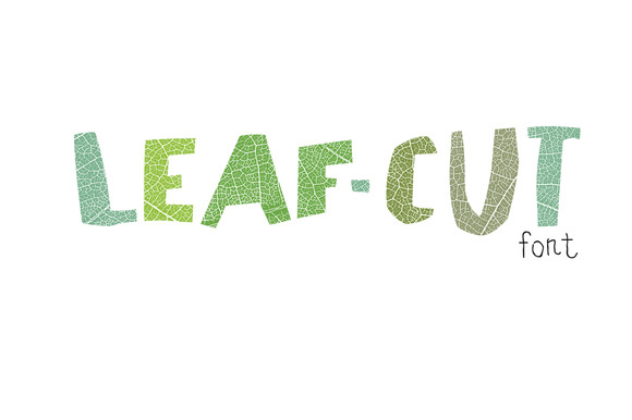 how to cut font into shape