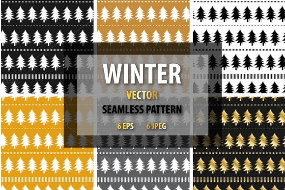 Winter Seamless Patterns