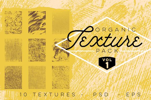 Organic Texture Pack Volume 1