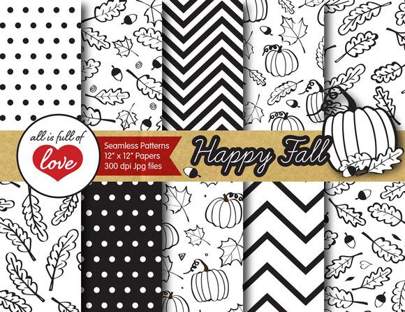 Fall Background Illustration Pattern