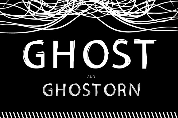 Ghost And GhosTorn Font 99%OFF