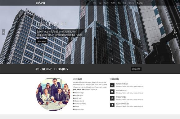 Edura Multipurpose Website Template