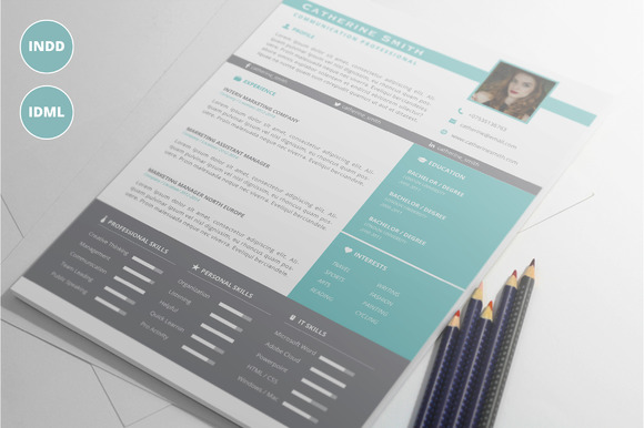 Modern Resume Template Vol.1