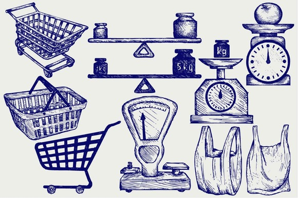 Objects Used In The Retail Trade