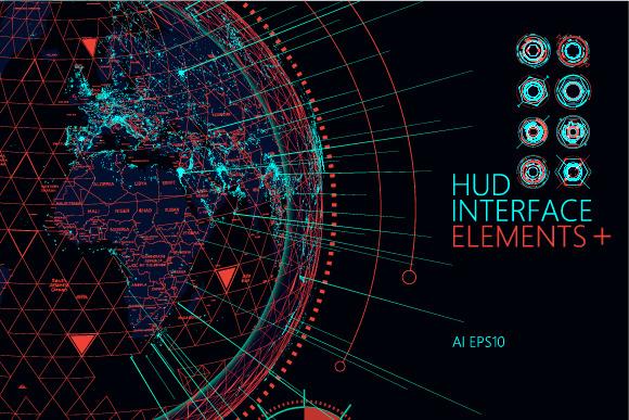 HUD And Futuristic Interface