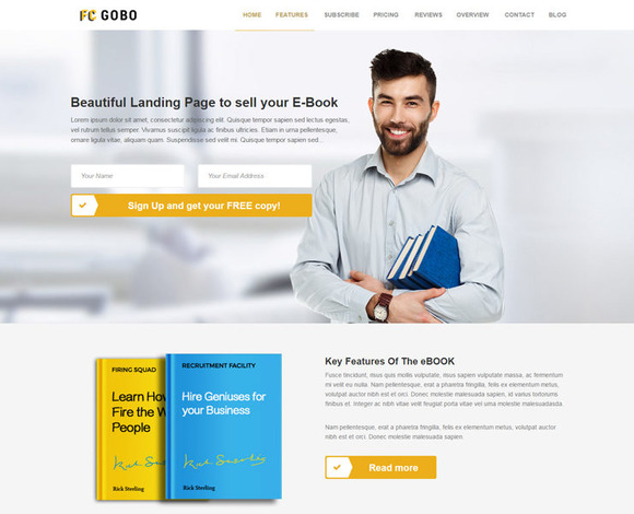 FC GOBO Website Template