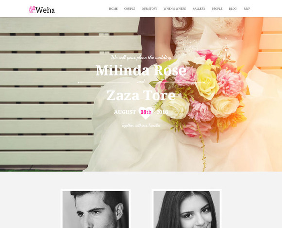 FC WEHA Website Template