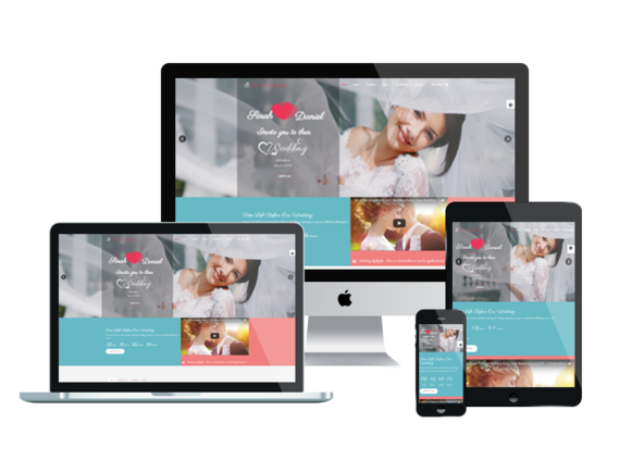 AT WEDDY Joomla Template