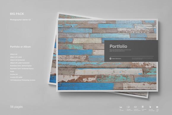 Portfolio Big Pack