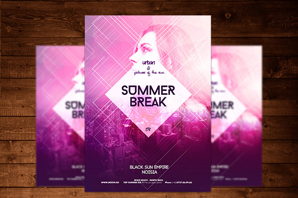 Urban Summer Flyer