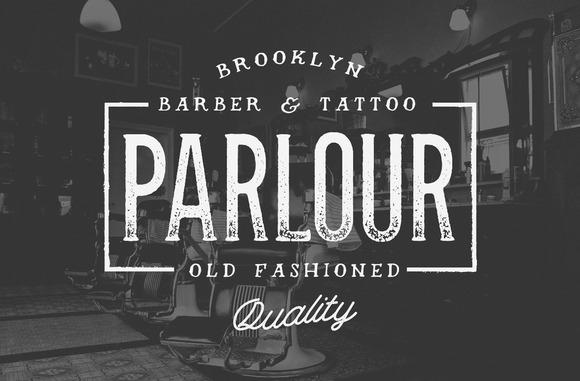 Parlour Typeface $5 Off