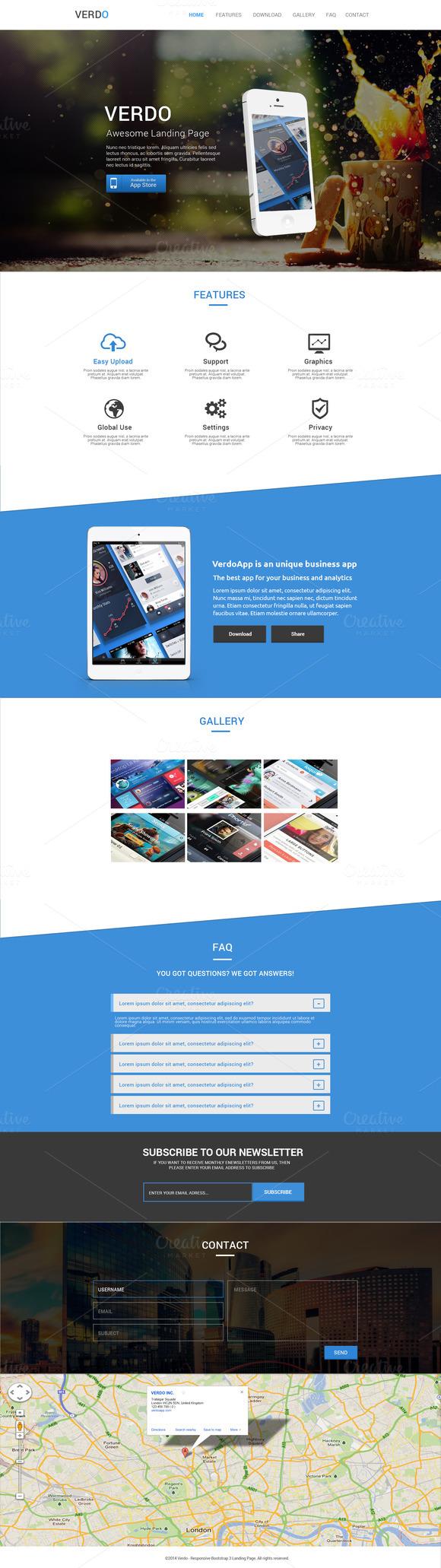Verdo Creative Landing Page