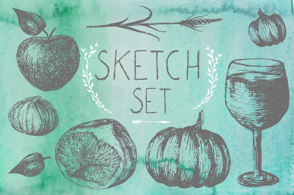 Sketch Autumn Set