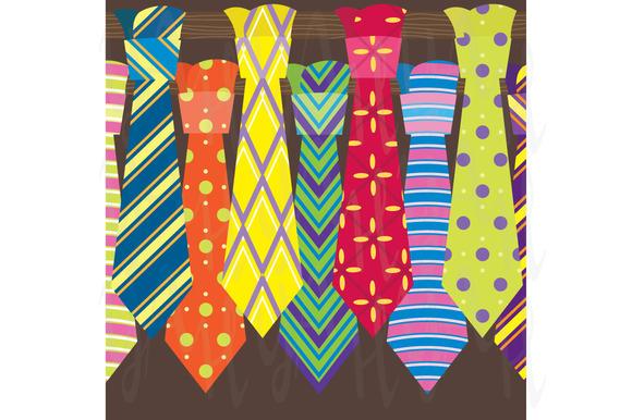 Ties Clip Art