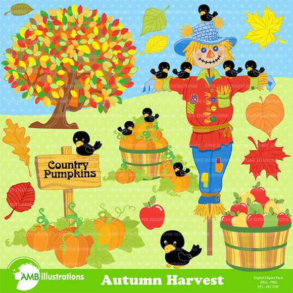 Harvest-Fall Cliparts-AMB-147