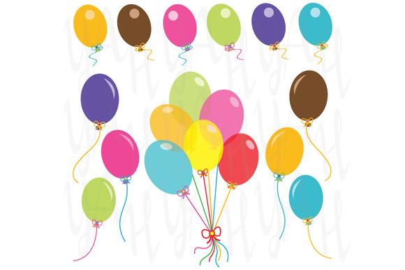 Party Balloons Clip Art