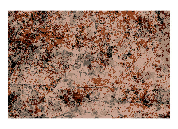 Abstract Texture Of Brown And Red