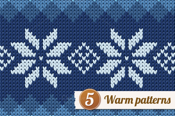 5 Knitted Patterns