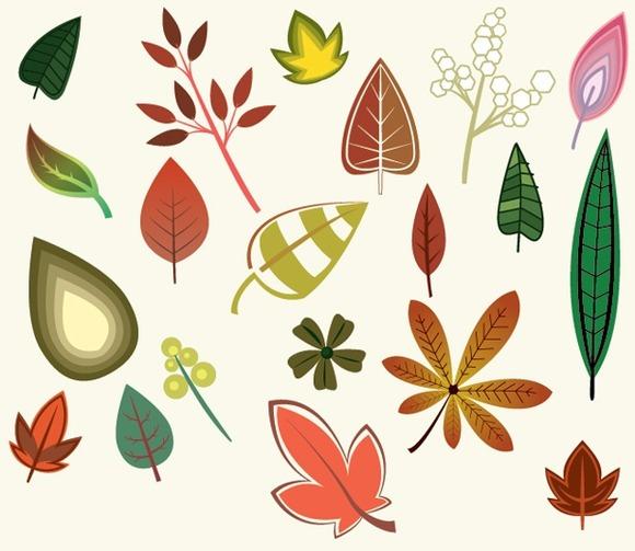 Fall Leaves Vectors