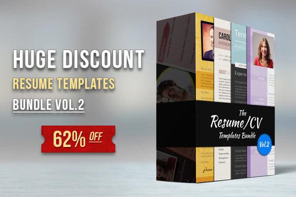 Premium Resume Bundle Vol.2