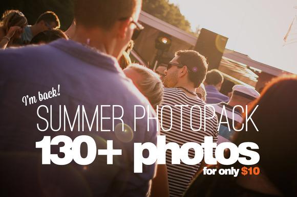 Summer PhotoPack 130 Photos