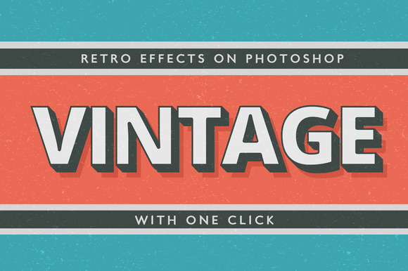 Text Effects Vintage Style