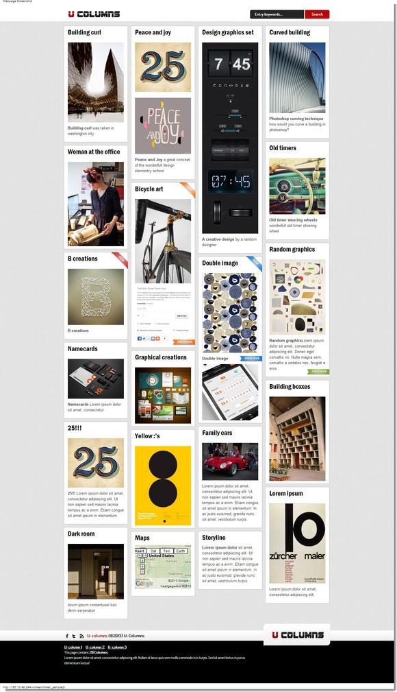 U-columns Wordpress Directory Theme