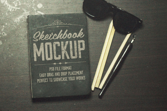 The Sketchbook Mockups Pack
