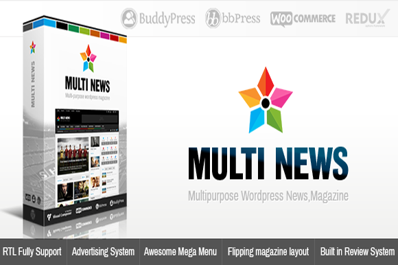 Multinews Multi-purpose Wordpress