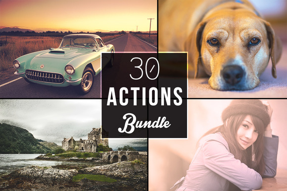 30 Actions Bundle
