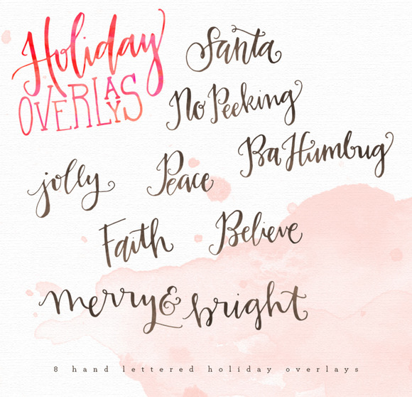 Holiday Overlays 2014