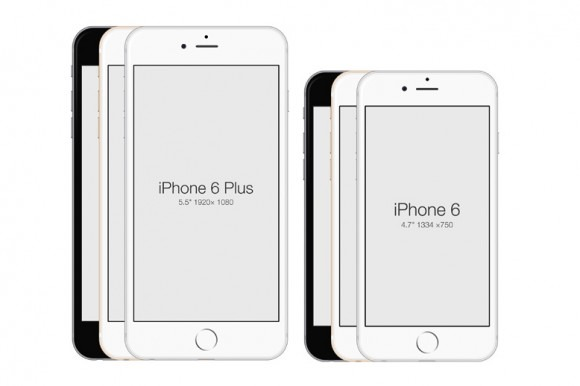 IPhone 6 IPhone 6 Plus PSD Mockup