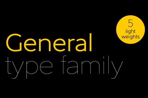 General Font Family