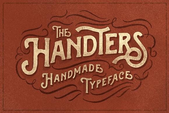 Handters Typeface