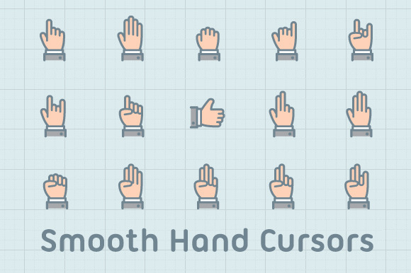 Smooth Hand Cursors