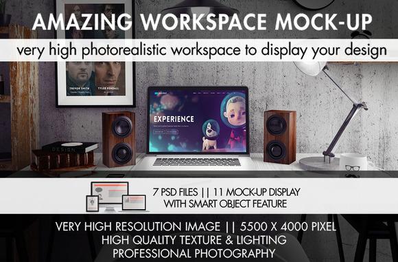 Amazing Workspace Mock-Up