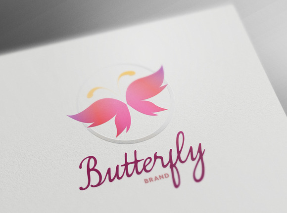 Butterfly Design Logo