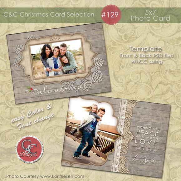 Christmas Photo Card Selection #129