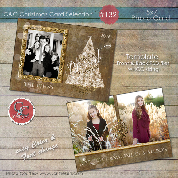 Christmas Photo Card Selection #132