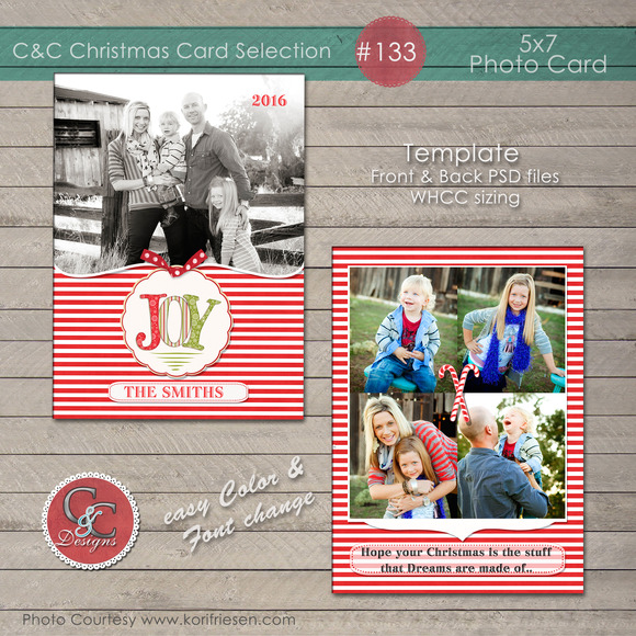 Christmas Photo Card Selection #133