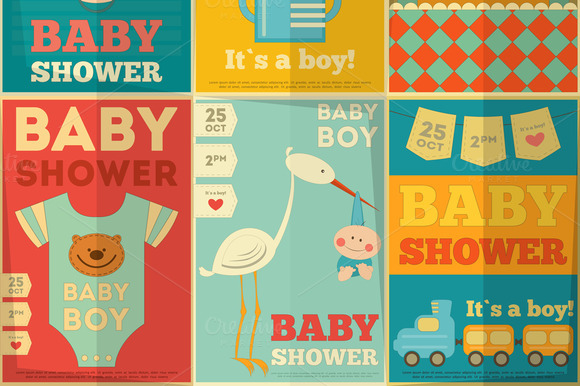 Baby Shower Posters
