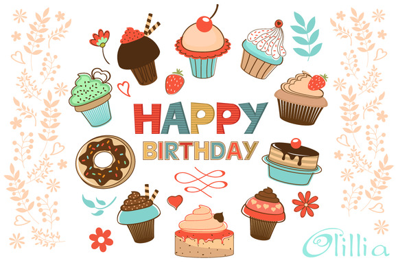 Happy Birthday Desserts Collection